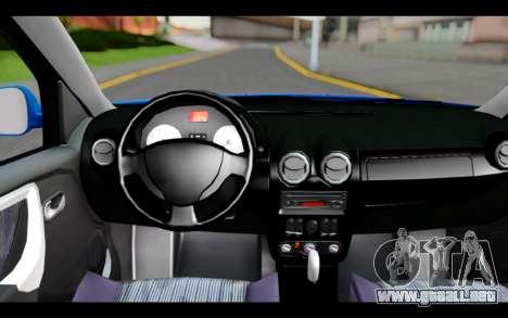Renault Sandero para la visión correcta GTA San Andreas