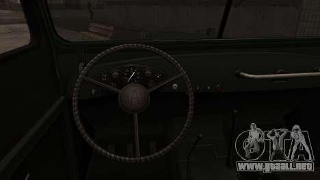 GAZ-69 para la visión correcta GTA San Andreas
