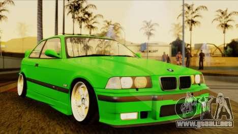 BMW M3 E36 [34RS671] para la visión correcta GTA San Andreas
