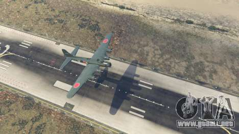 Boeing B-17 Flying Fortress para GTA 5