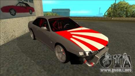 Nissan Silvia S14 Drift JDM para GTA San Andreas left