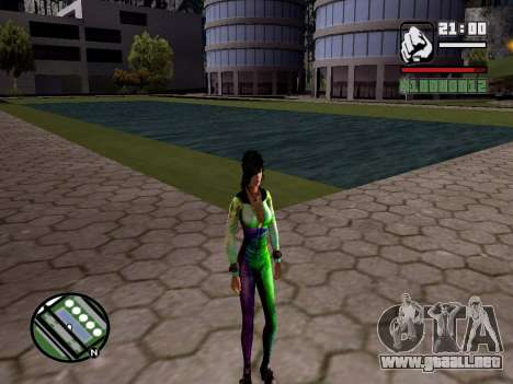 Christie Doa Changed v1.0 para GTA San Andreas tercera pantalla