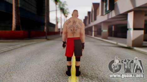 Brock Lesnar para GTA San Andreas tercera pantalla