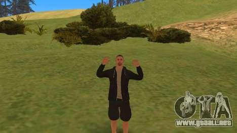 Hablando como un mafioso para GTA San Andreas tercera pantalla