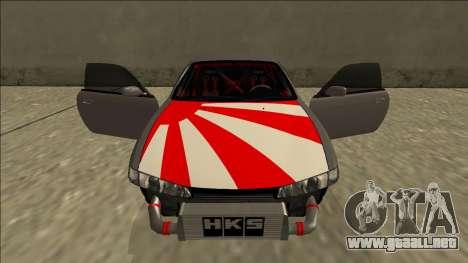Nissan Silvia S14 Drift JDM para GTA San Andreas interior