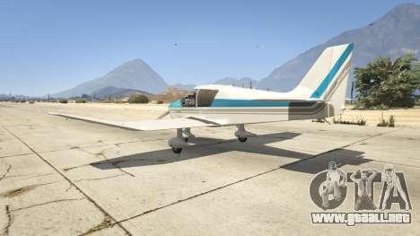 GTA 5 Robin DR-400 tercera captura de pantalla
