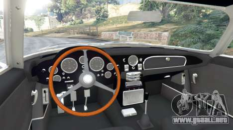 GTA 5 Aston Martin DB5 Vantage 1965 vista lateral trasera derecha