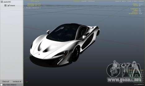 Rueda de GTA 5 2014 McLaren P1 v2.0