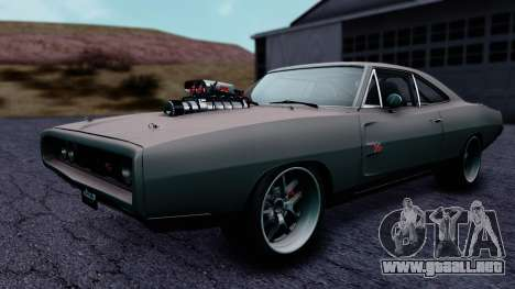 Dodge Charger RT 1970 FnF7 para GTA San Andreas