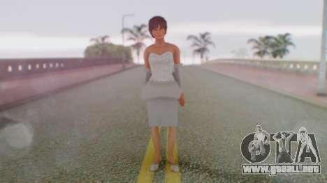 Miss Elizabeth para GTA San Andreas segunda pantalla