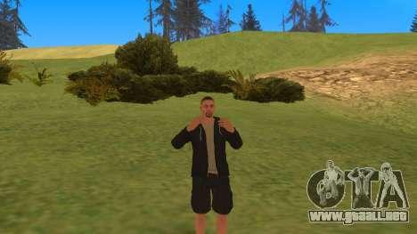Hablando como un mafioso para GTA San Andreas segunda pantalla