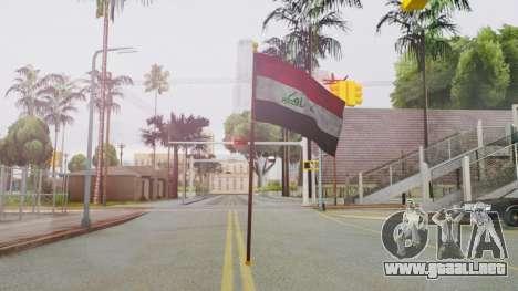 Iraq Flag HD para GTA San Andreas segunda pantalla