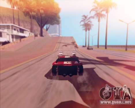 Banshee Twin Mill III Hot Wheels v1.0 para GTA San Andreas vista hacia atrás