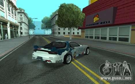 Mazda RX-7 Tunable para la visión correcta GTA San Andreas