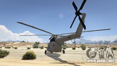 GTA 5 Mi-8 tercera captura de pantalla