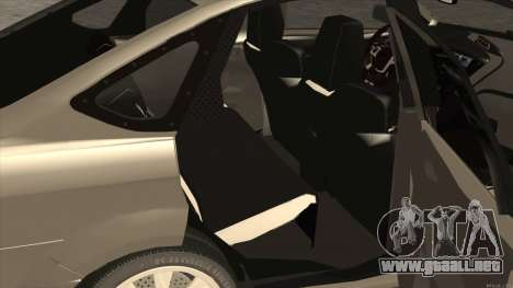 Ford Focus Sedan 2009 para la visión correcta GTA San Andreas