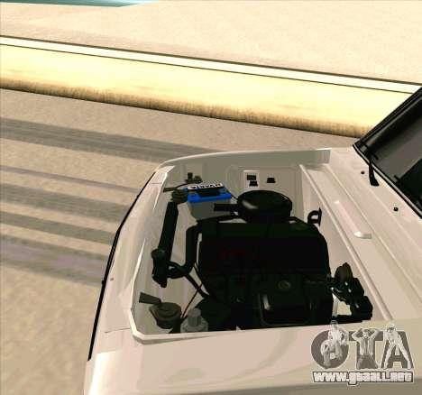 VAZ 2106 [ARM] para visión interna GTA San Andreas