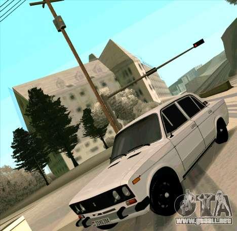 VAZ 2106 [ARM] para GTA San Andreas vista hacia atrás