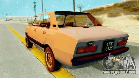 Fiat 132 para GTA San Andreas left
