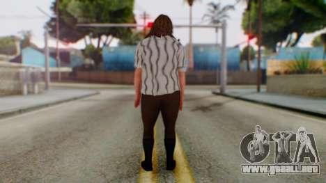 WWE Mankind para GTA San Andreas tercera pantalla
