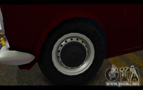 Fiat 124 para la visión correcta GTA San Andreas