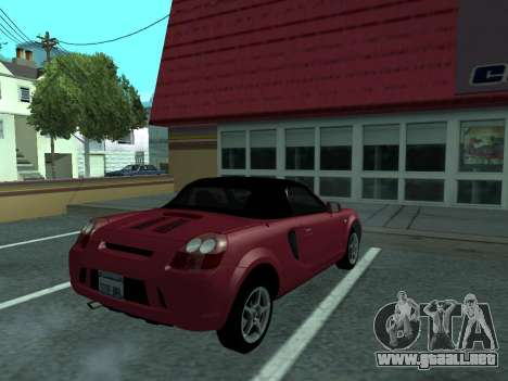 Toyota MR-S Tunable para GTA San Andreas left