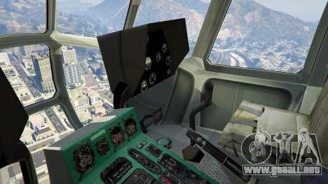 GTA 5 Mi-8 quinta captura de pantalla