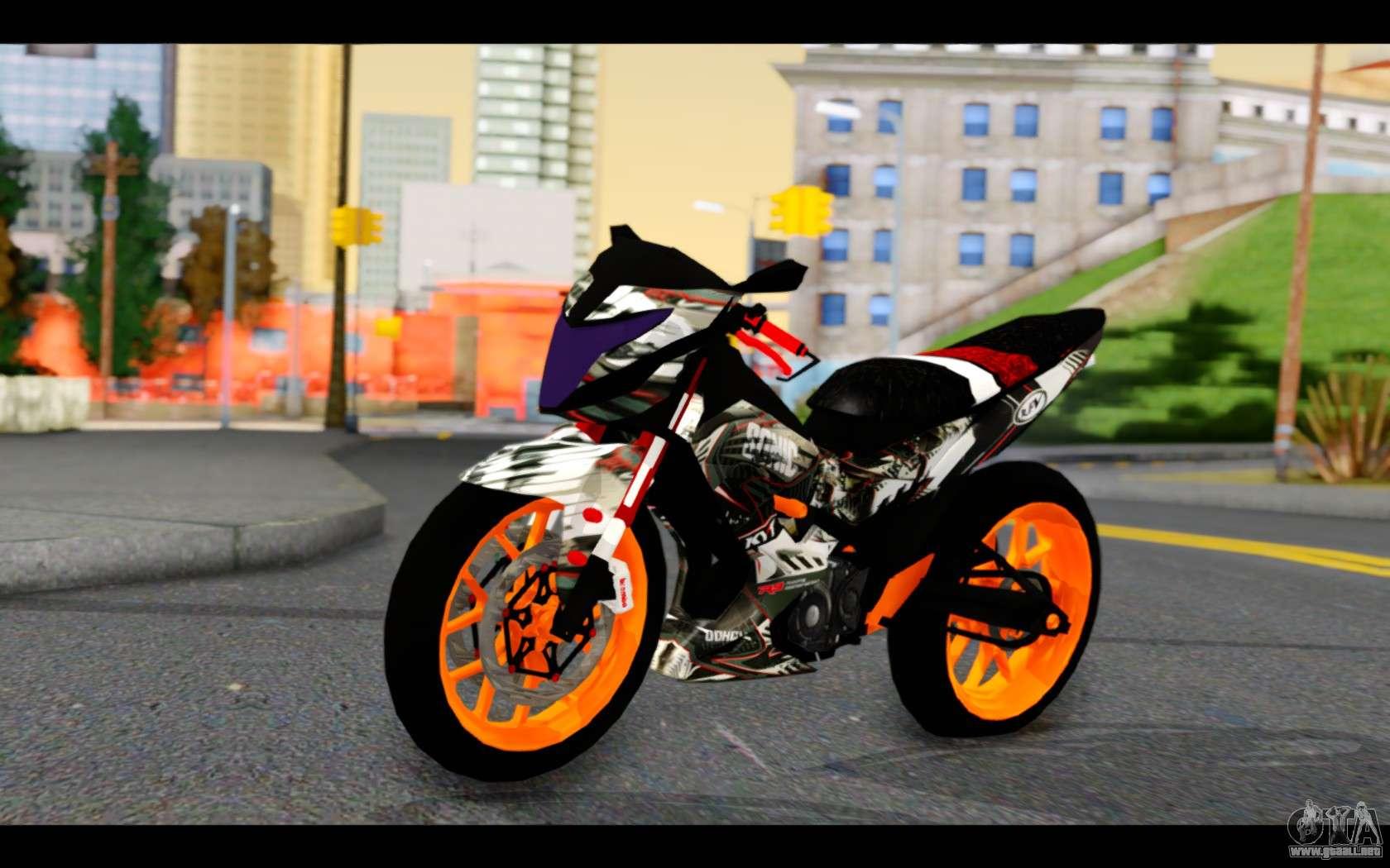 Ktm Gta Sa >> Honda Sonic 150R Custom para GTA San Andreas