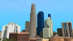 LSPD, All Saints Hospital & Skyscrapers 2016 para GTA San Andreas