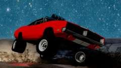 Dodge Charger 1969 Rusty Rebel para GTA San Andreas