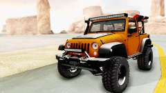 Jeep Wrangler Off Road para GTA San Andreas