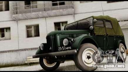 GAZ-69 para GTA San Andreas