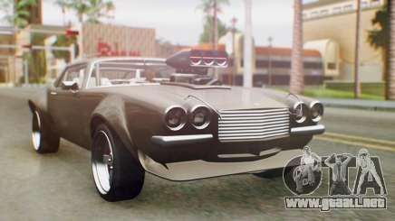 GTA 5 Imponte Nightshade IVF para GTA San Andreas
