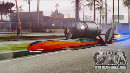 Flying Hovercraft New Skin para GTA San Andreas