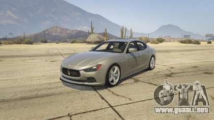 Maserati Ghibli S para GTA 5
