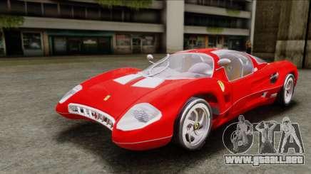 Ferrari P7 Chromo para GTA San Andreas