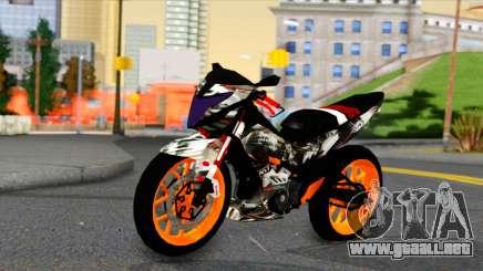 Honda Sonic 150R Custom para GTA San Andreas