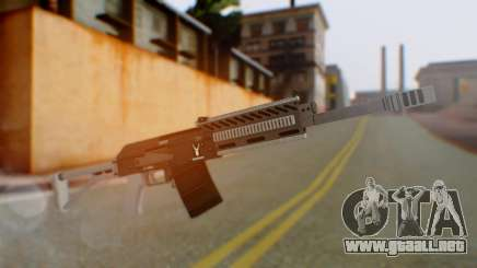 GTA 5 Heavy Shotgun - Misterix 4 Weapons para GTA San Andreas