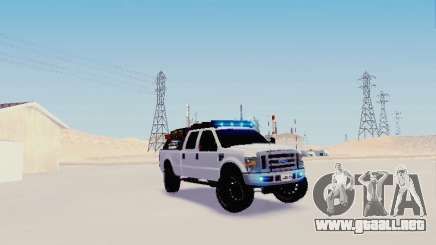 Ford F-250 Full Off-Road para GTA San Andreas
