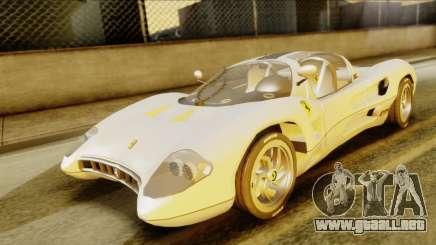 Ferrari P7 Spyder para GTA San Andreas