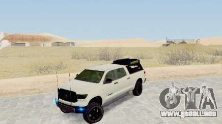 Toyota Tundra 2012 Semi-Off-road para GTA San Andreas