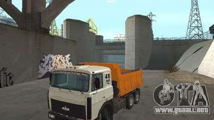 MAZ 551605-221-024 para GTA San Andreas