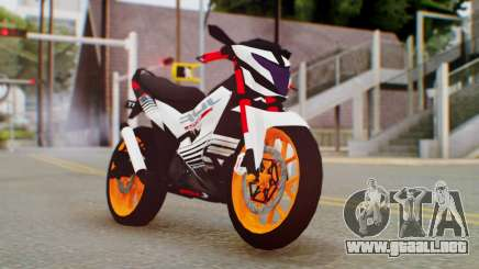 Honda Sonic 150R KingLivery para GTA San Andreas