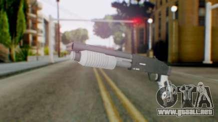 GTA 5 Sawed-Off Shotgun - Misterix 4 Weapons para GTA San Andreas