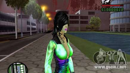 Christie Doa Changed v1.0 para GTA San Andreas