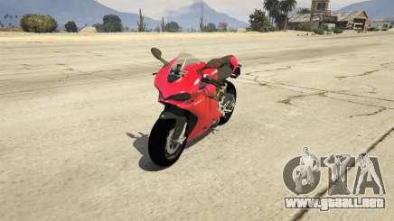 Ducati 1299 Panigale S v1.1 para GTA 5