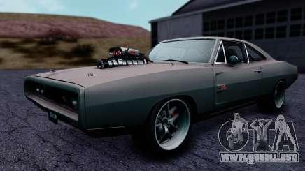 Dodge Charger RT 1970 FnF7 para GTA San Andreas