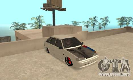 Vaz 2114 Armenian para GTA San Andreas left