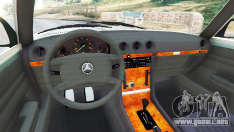 GTA 5 Mercedes-Benz 350 SL (R107) vista lateral trasera derecha