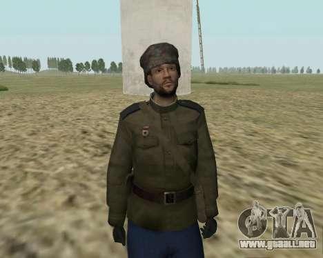 La colección de Soldados del ejército rojo para GTA San Andreas segunda pantalla